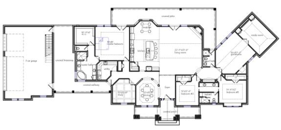 Texas house plans for Texas ranch house floor plans