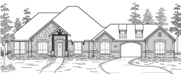 2875 PLAN   ELEVATION